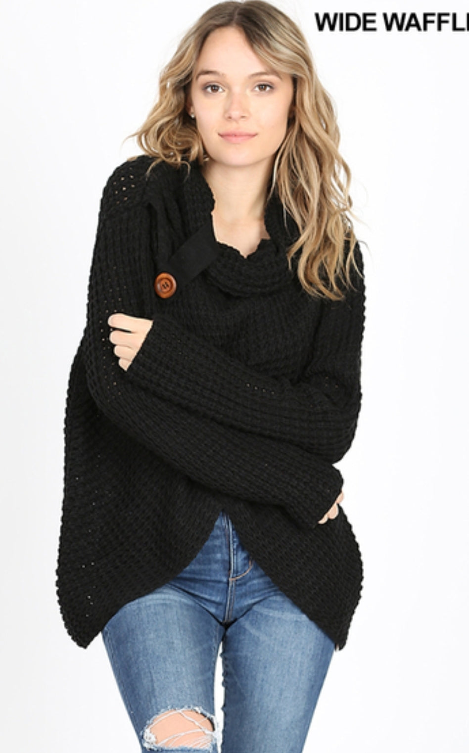 Lottie wrap sweater