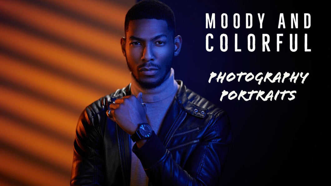 Light it like Jeff: Moody & Colorful Portraits | EP 5
