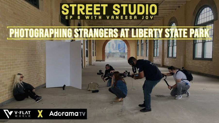 Photographing Strangers at Liberty State Park | EP 6 Vanessa Joy