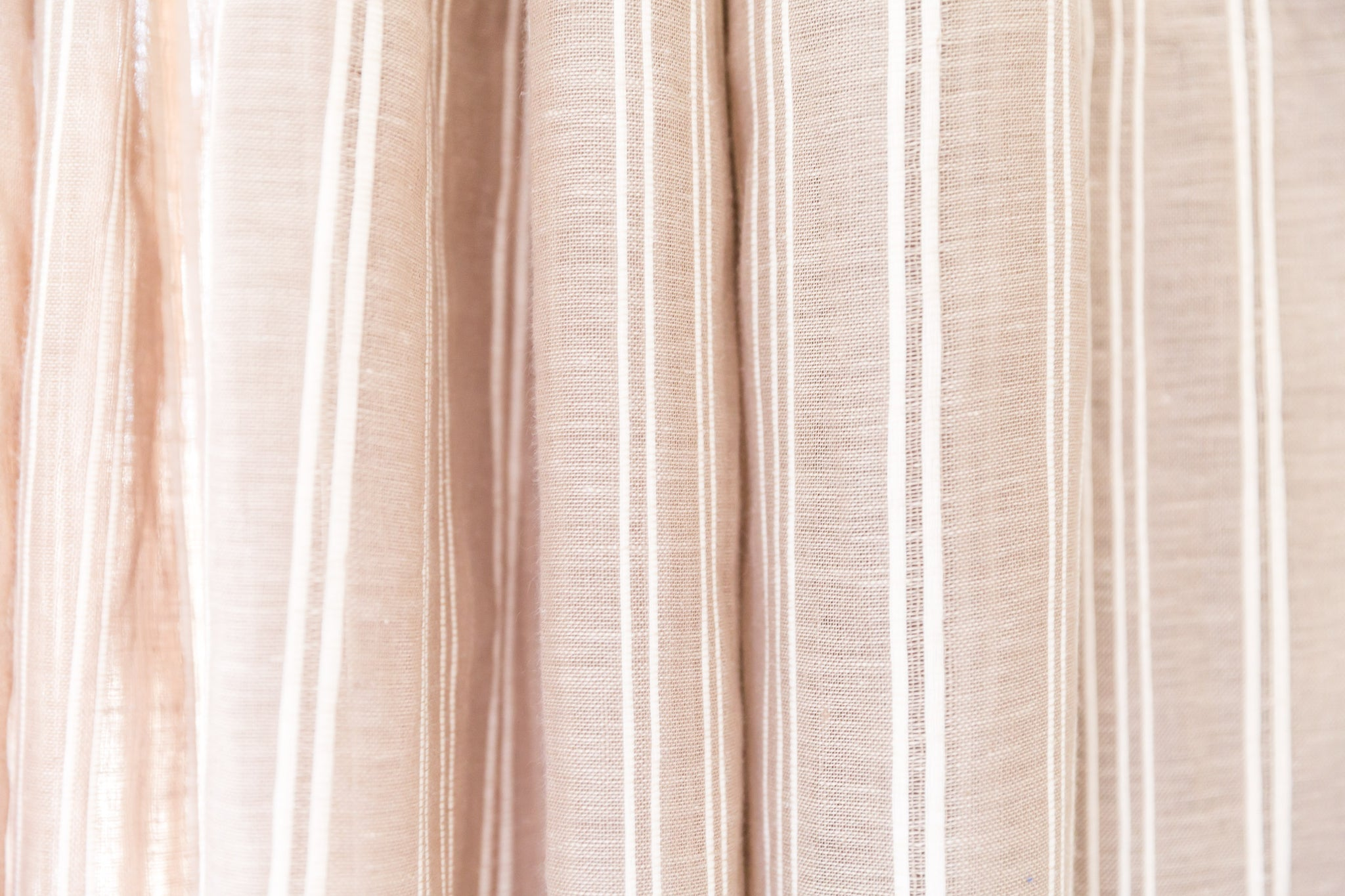 Barbados Striped Linen Sheers 3 Colours Made to Measure