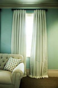 Vienna Faux Dupion Silk Custom Made Curtains