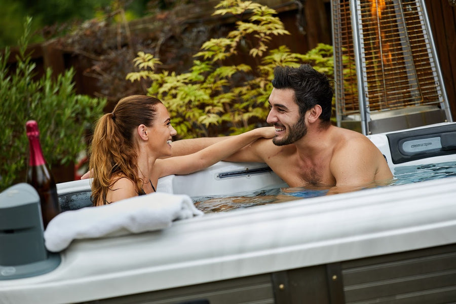 Romance and Relaxation: That's What Hot Tubs Are Made For!