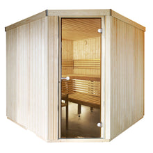 Load image into Gallery viewer, Harvia Variant Angle Sauna -2380mm x 1945mm