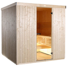 Load image into Gallery viewer, Harvia Variant Square Sauna - 2380mm x 1945mm