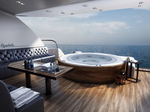 Custom Marine Hot Tub