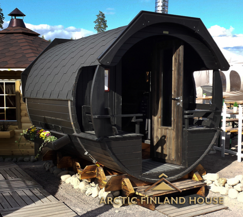 Barrel Sauna 3m DLX