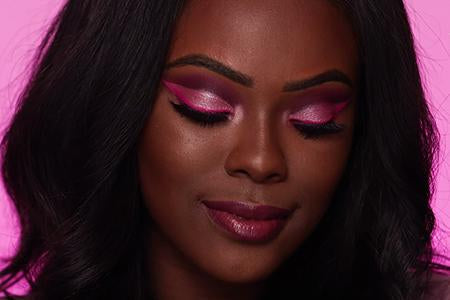 Pink Cut Crease with Princess Kaae