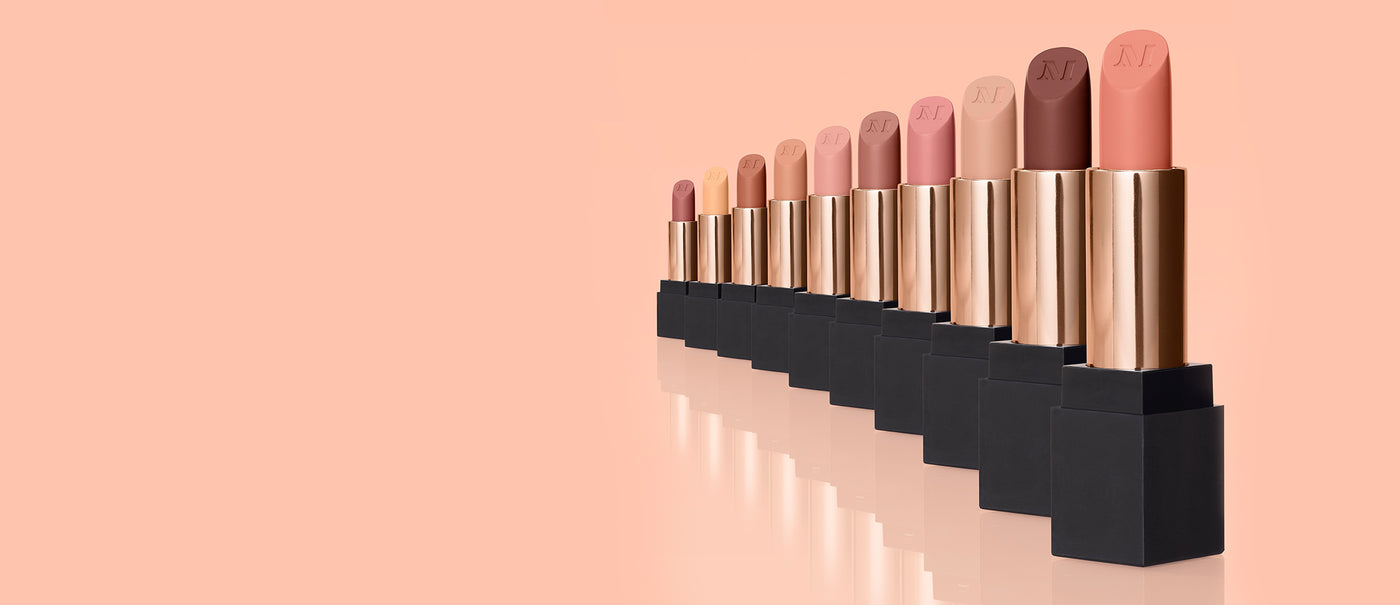 Perfect 10 Mega Matte Nude Lipstick Collection