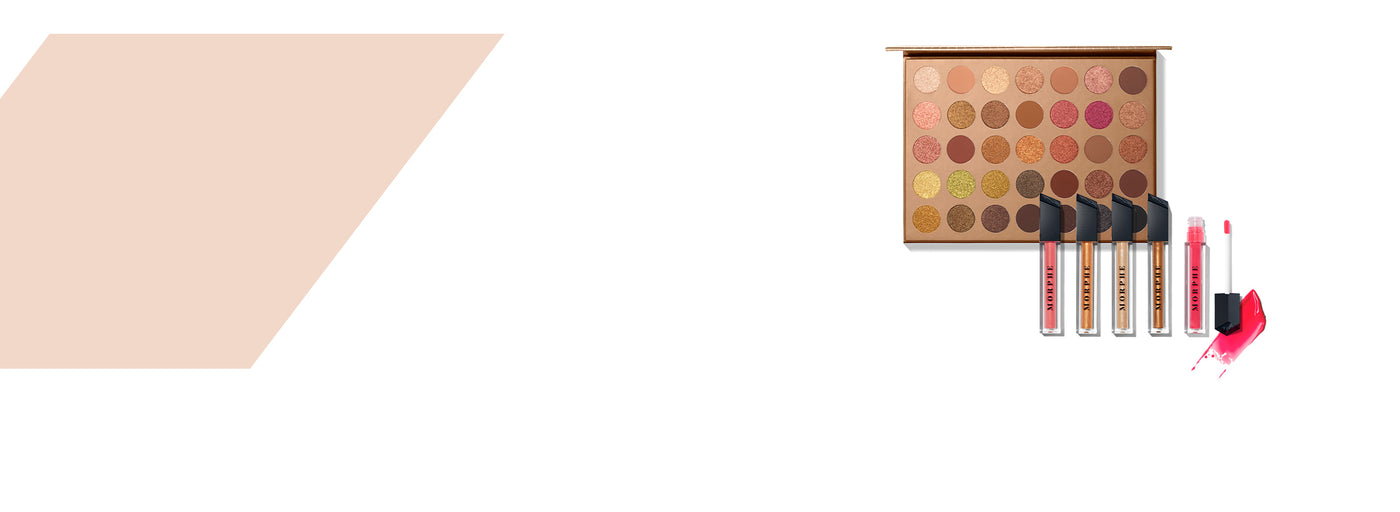 35G Bronze Goals Artistry Palette and Hot Tropic Lip Gloss Collection