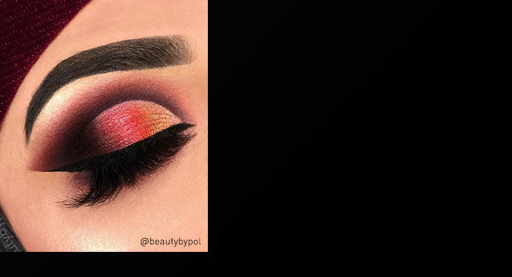 Eyeshadow look on @beautybypol