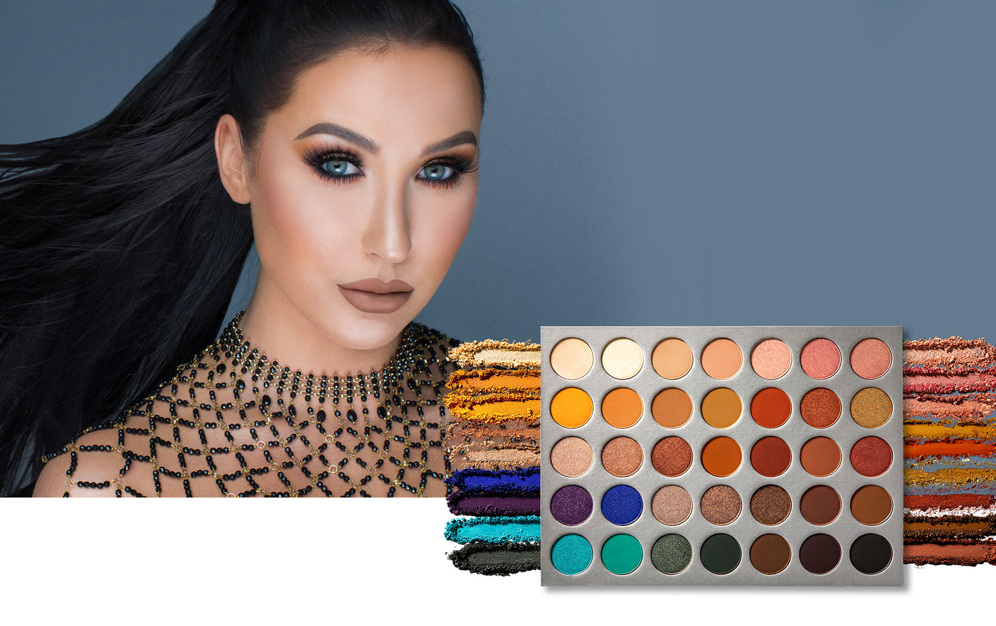 Jaclyn Hill with Jaclyn Hill Eyeshadow Palette