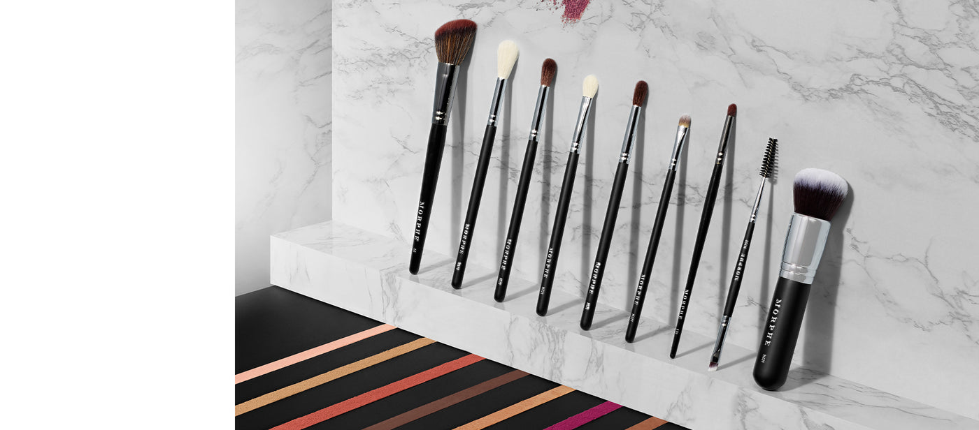 Morphe X Manny MUA Glam Brush Collection 9-Piece Face & Eye Brushes