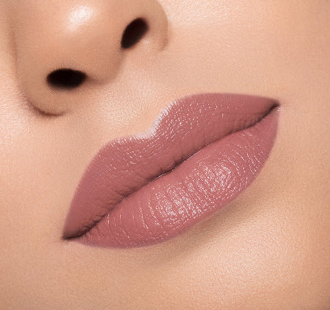 CREAM LIPSTICK - WHIPPED ON MODEL