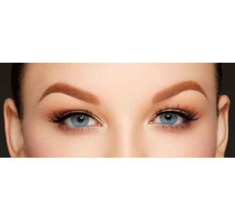 MICRO BROW PENCIL - ALMOND ON MODEL