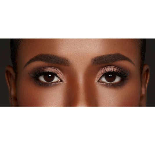 MICRO BROW PENCIL - CHOCOLATE MOUSSE ON MODEL