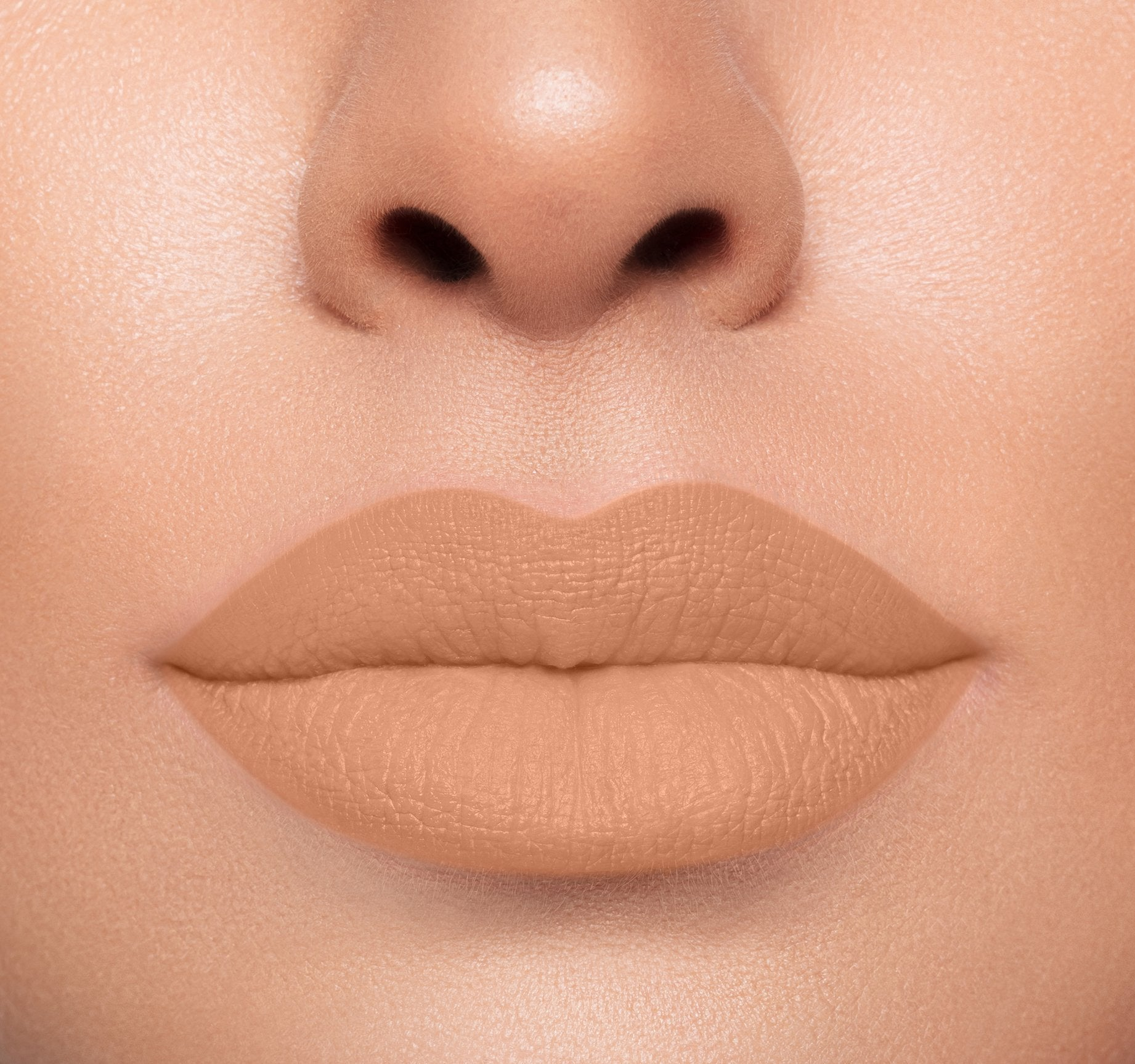 MEGA MATTE LIPSTICK - FIRST BASE ON MODEL, view larger image