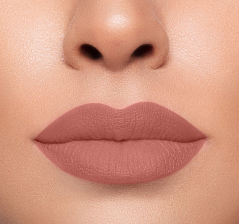 MEGA MATTE LIPSTICK - SINGLE AF ON MODEL