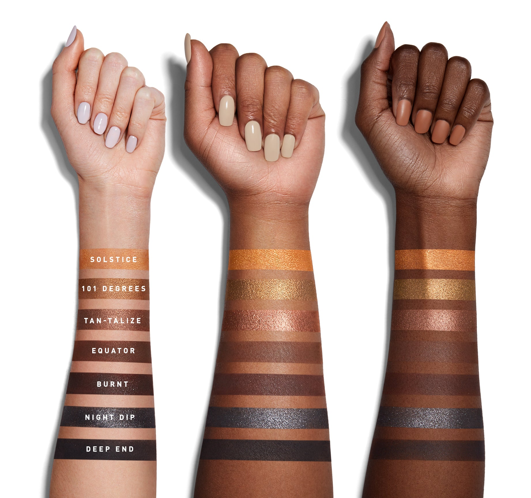 35G BRONZE GOALS ARTISTRY PALETTE ARM SWATCHES, view larger image
