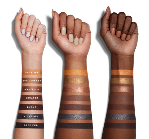 35G BRONZE GOALS ARTISTRY PALETTE ARM SWATCHES