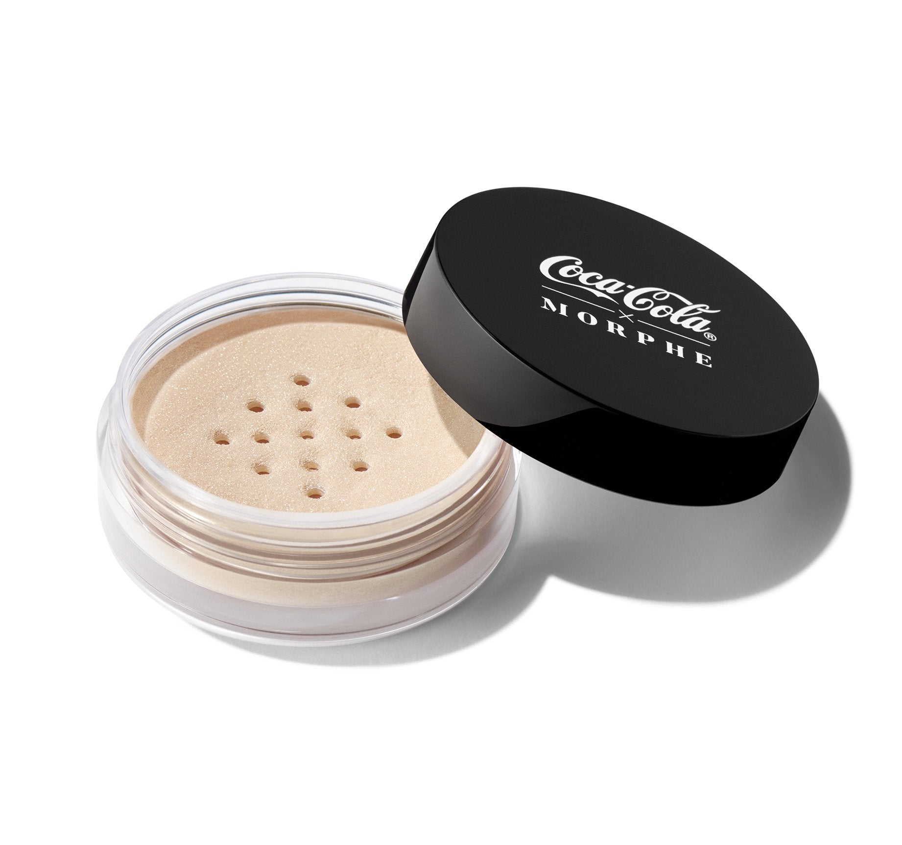 COCA-COLA X MORPHE GLOWING PLACES LOOSE HIGHLIGHTER - BUBBLY BABE, view larger image