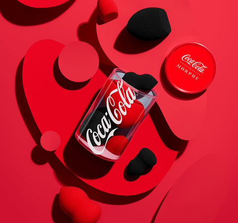 COCA-COLA X MORPHE THE QUENCH PACK BEAUTY SPONGE COLLECTION