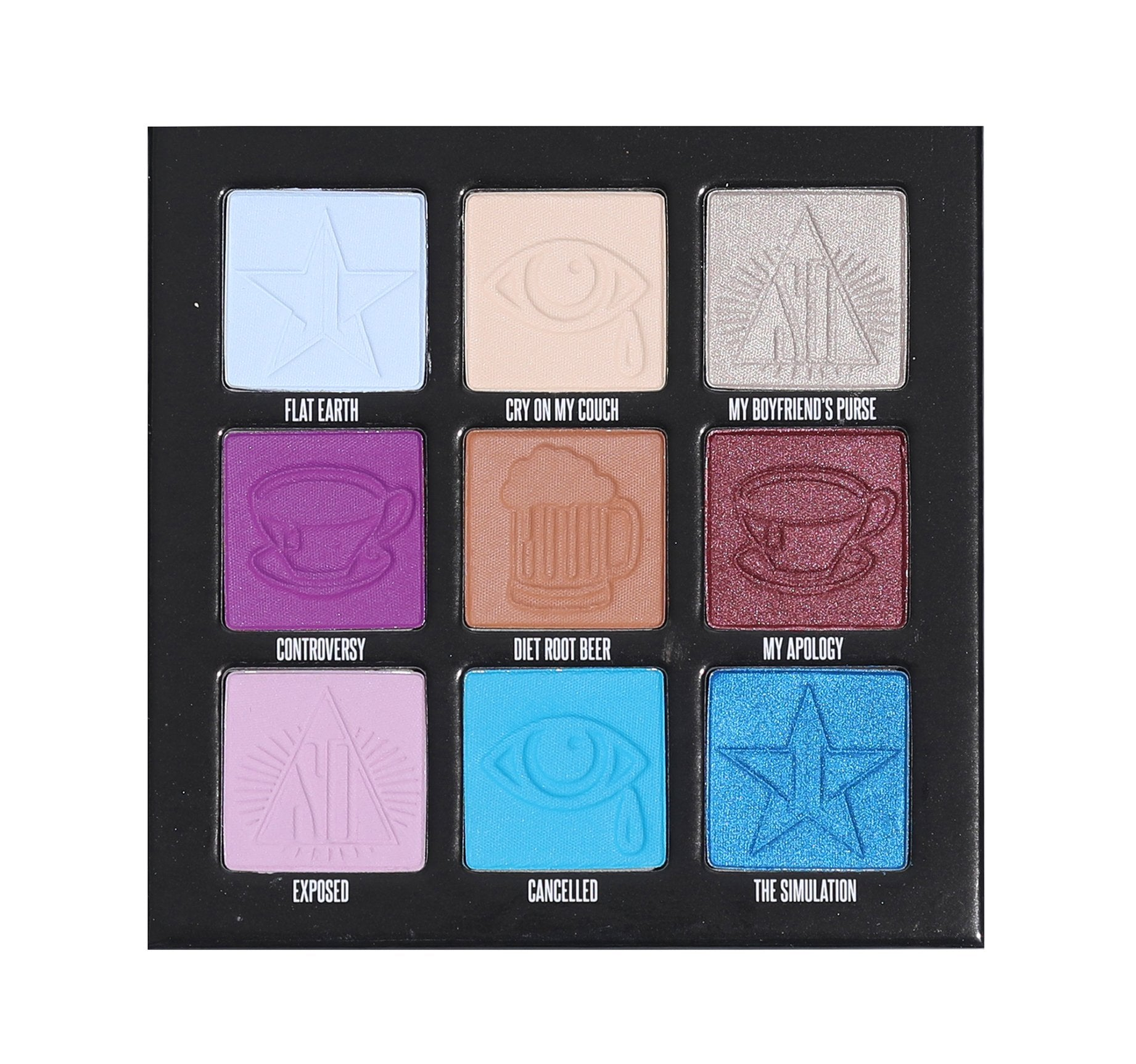 MINI CONTROVERSY EYESHADOW/ PRESSED PIGMENT PALETTE, view larger image
