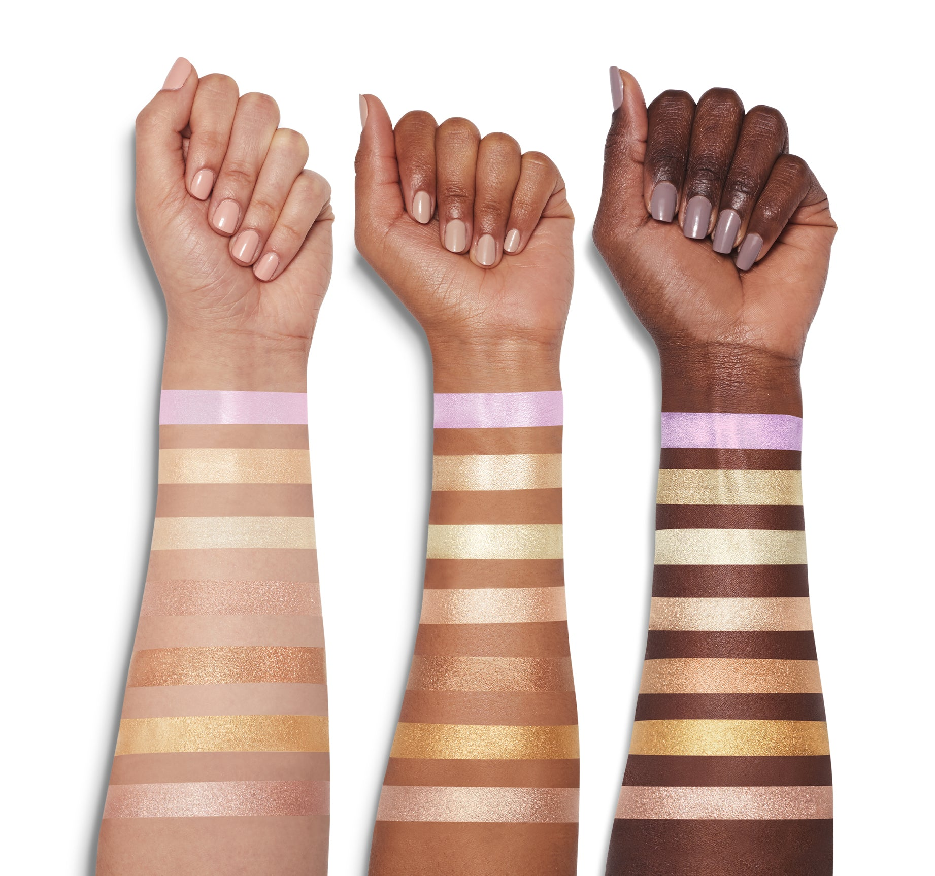 HIGHLIGHTER - LIT ARM SWATCHES, view larger image