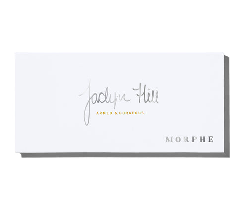 MORPHE X JACLYN HILL ARMED & GORGEOUS EYESHADOW PALETTE PACKAGING