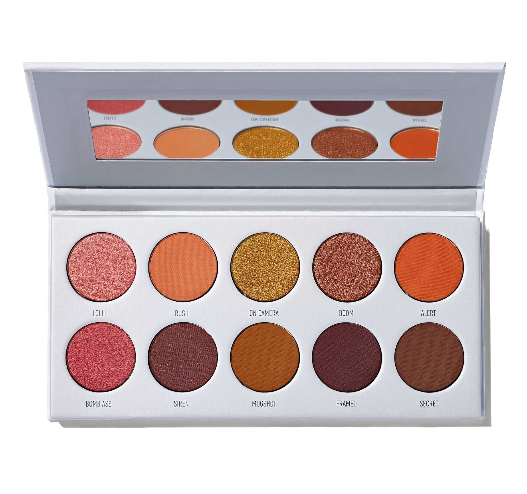 MORPHE X JACLYN HILL RING THE ALARM EYESHADOW PALETTE, view larger image