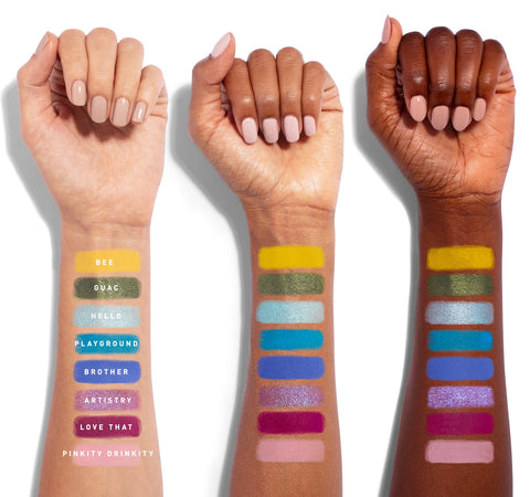 MORPHE X JAMES CHARLES THE MINI PALETTE ARM SWATCHES
