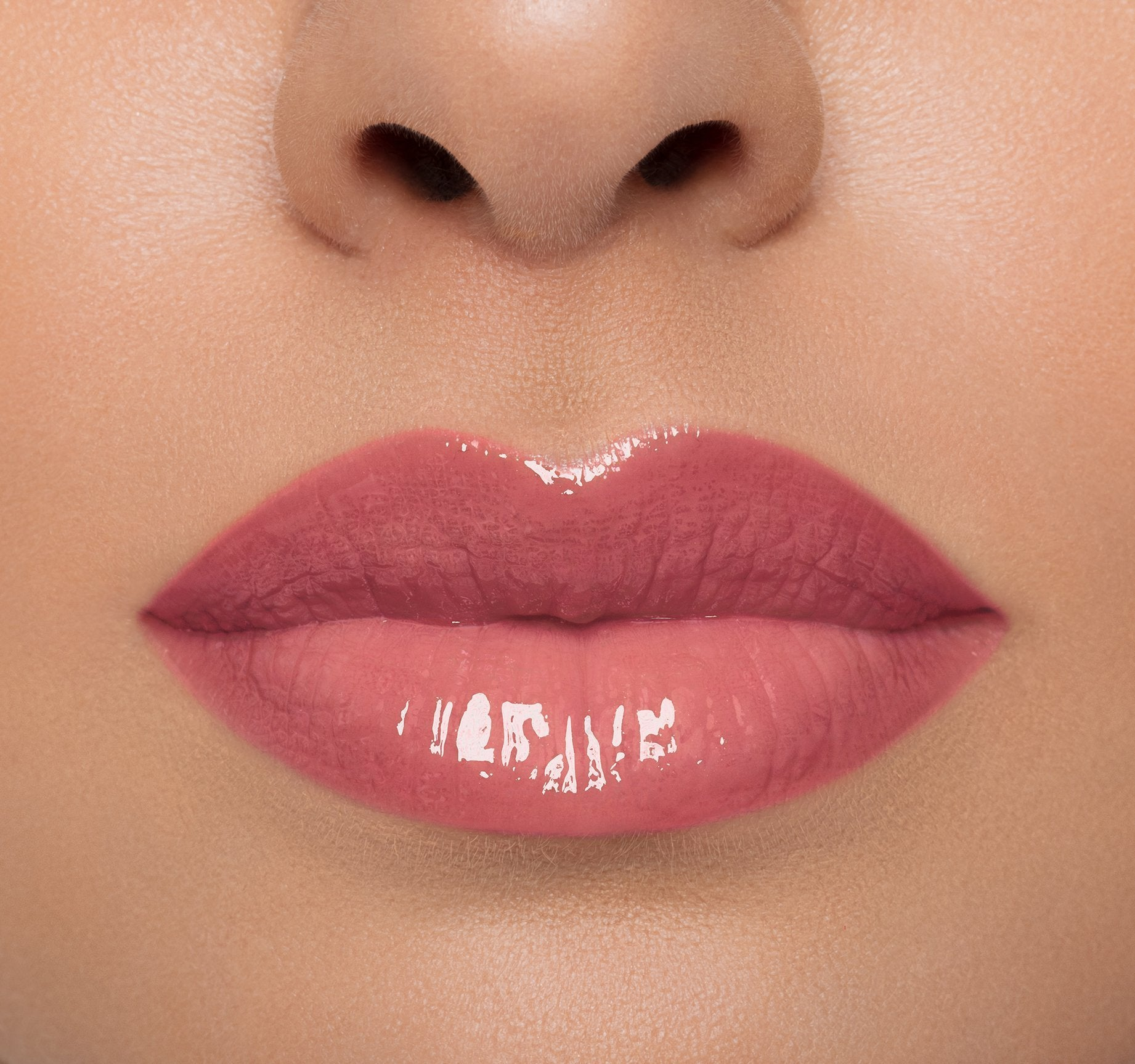 LIP GLOSS - SWAY ON MODEL, view larger image