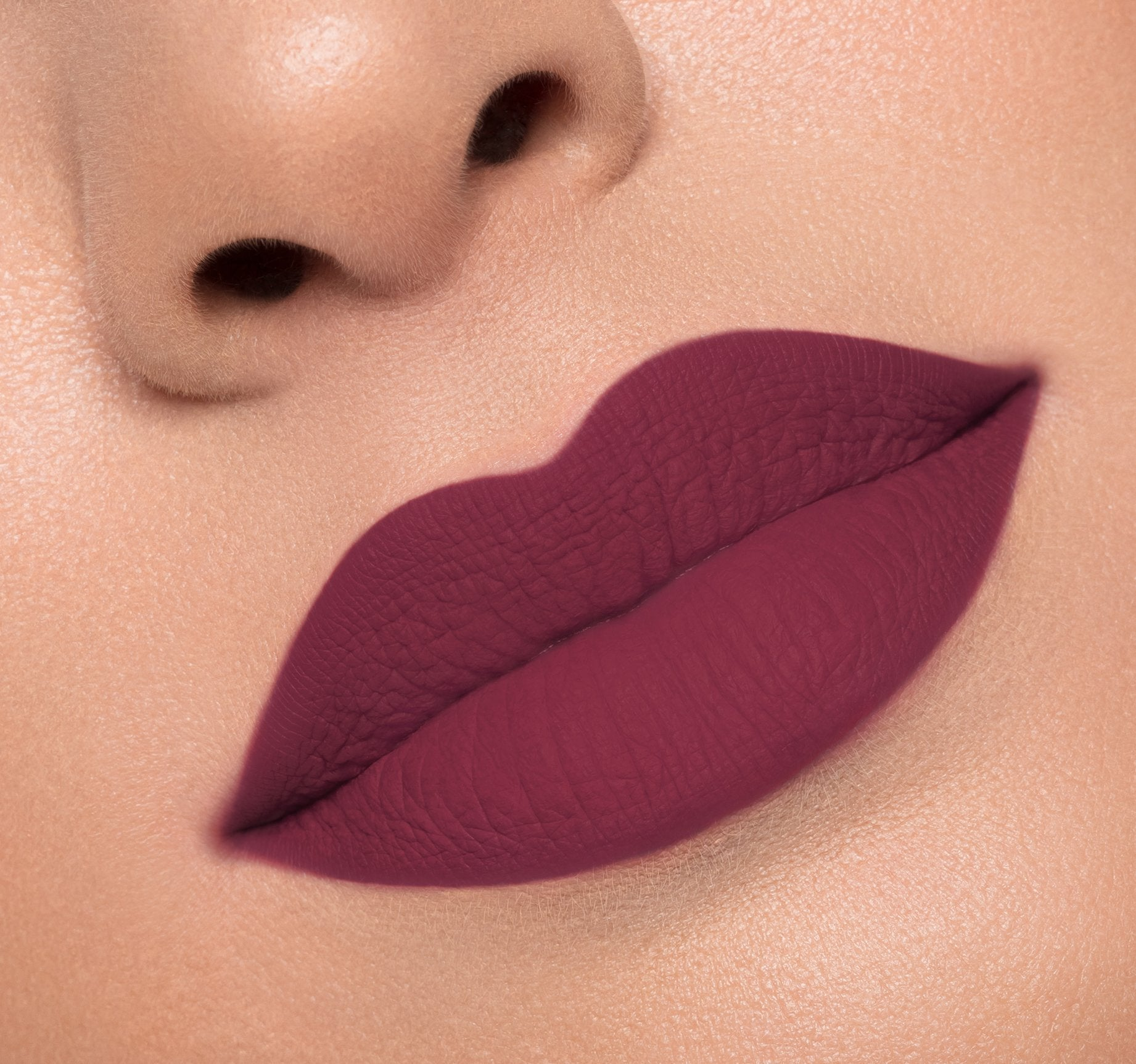 MATTE LIQUID LIPSTICK - MOOD ON MODEL, view larger image
