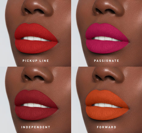 THE BOLD 8 MEGA MATTE LIPSTICK COLLECTION