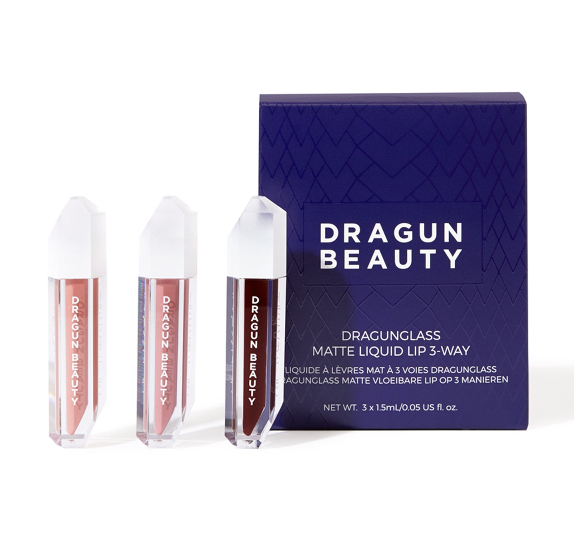DRAGUNGLASS 3-WAY LIQUID LIP MINIS, view larger image