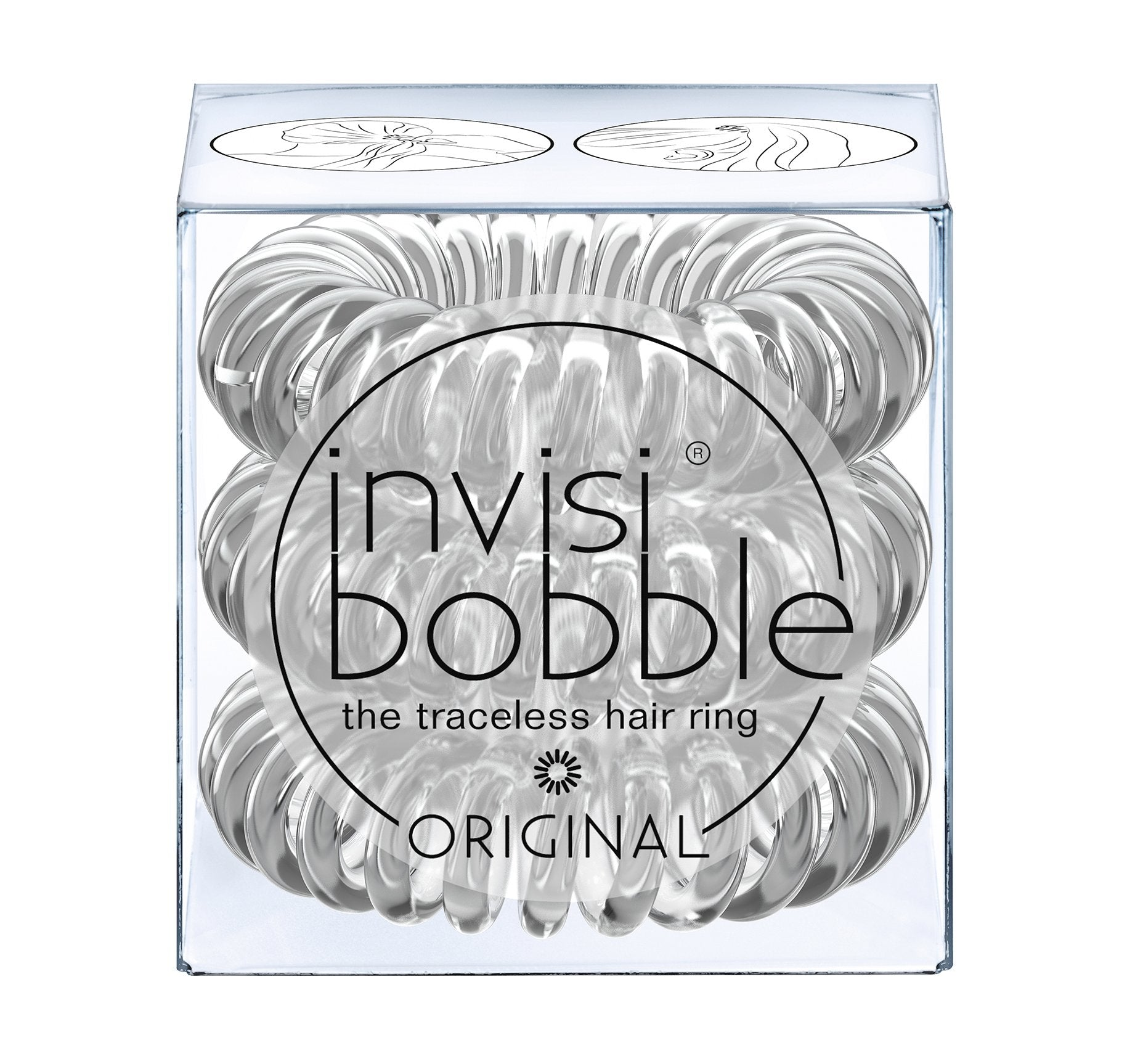 INVISIBOBBLE® ORIGINAL - CRYSTAL CLEAR, view larger image