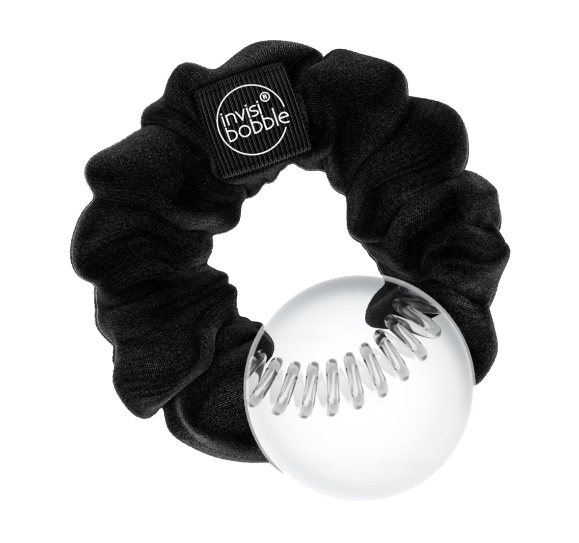 INVISIBOBBLE® SPRUNCHIE - TRUE BLACK, view larger image