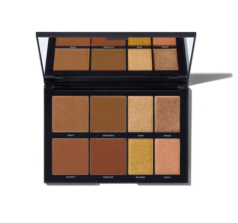 35W - 35 COLOR WARM EYESHADOW PALETTE