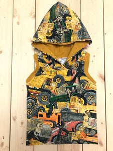 Construction Vehicles - Hooded Tank