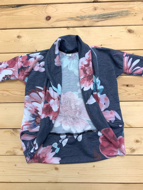 Ladies - Grey Floral