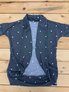 Ladies - Grey Polka Dot