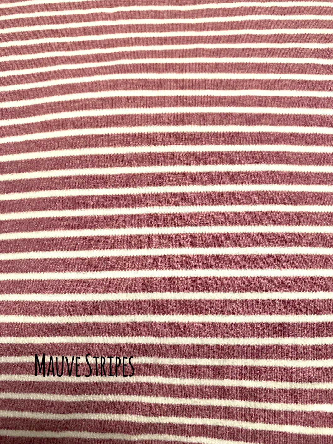 Mauve Stripes