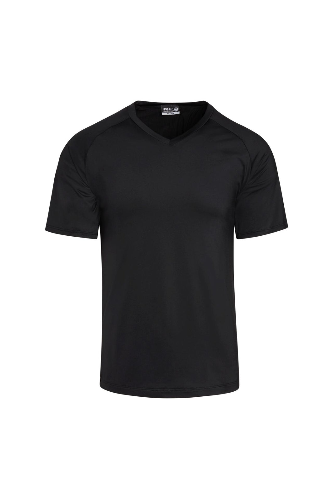 Men's Jersey V-Neck Posture Shirt