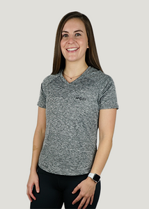Women's Tech V-Neck Posture Shirt