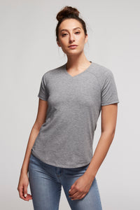 Women's V-Neck Tencel Smart Posture-Perfecting Shirt