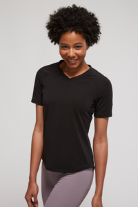Women's Tencel V-Neck Posture Shirt (Eco-Friendly)