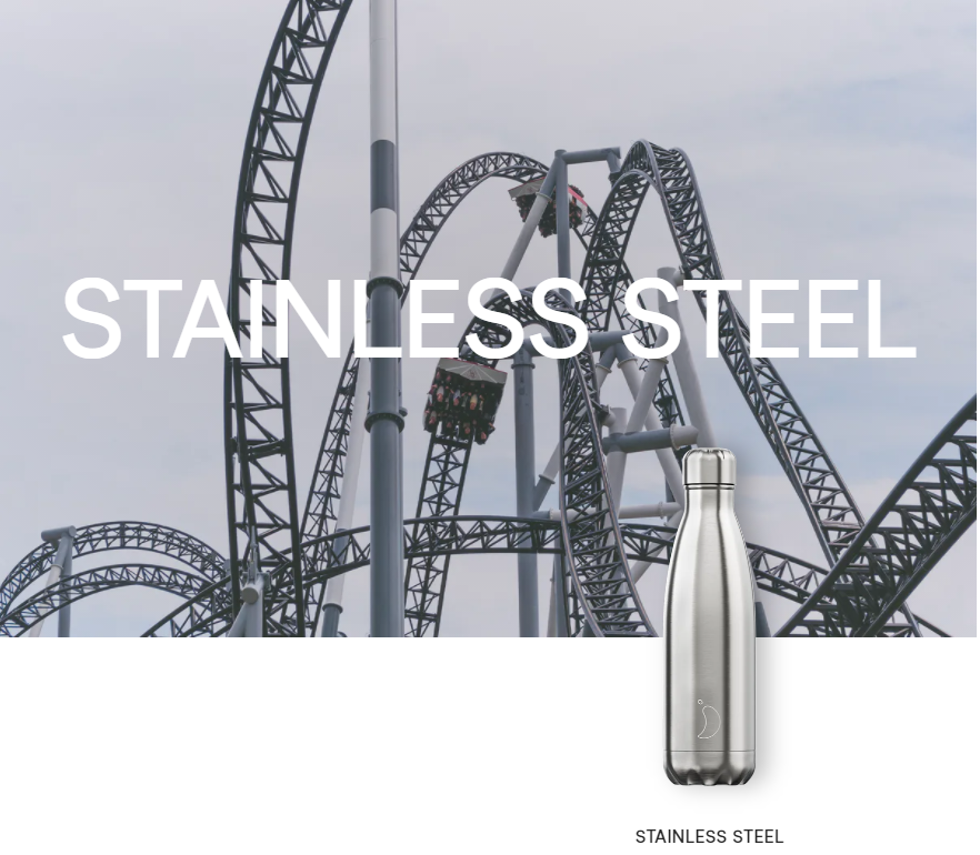 Chilly's Bottles Stainless Steel