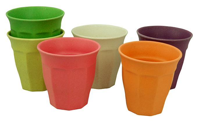 ZuperZozial - Cupful of Colour- large cups set/6 RBW - Zuperzozial UK