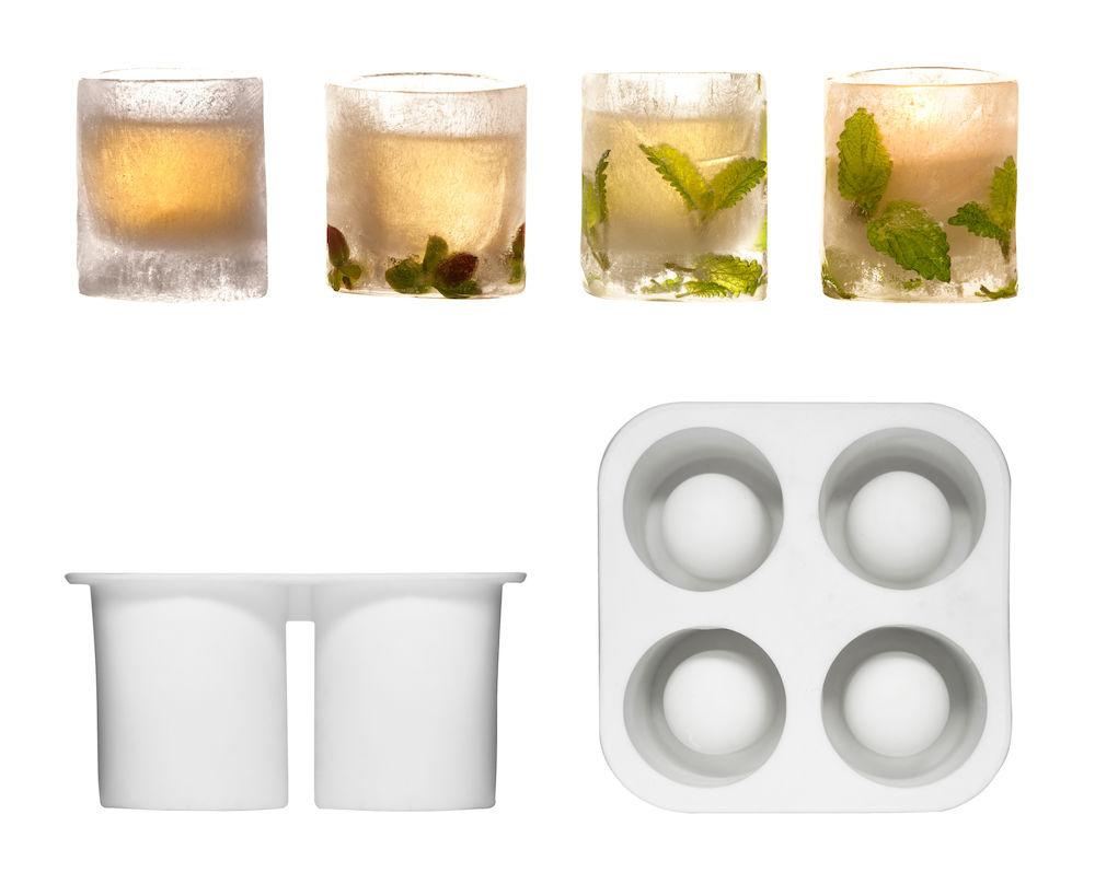 Ice shot glass mould, silicone