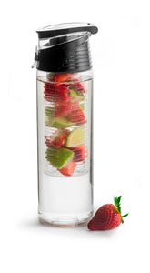 Fresh Water Bottles with Fruit Piston Handle