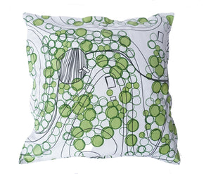 Born in Sweden Pillowcase Sweden from above  Forest